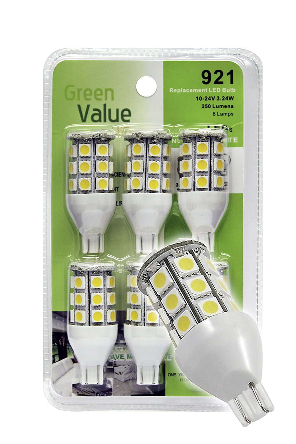 LED Bulb 921 base - Natural White